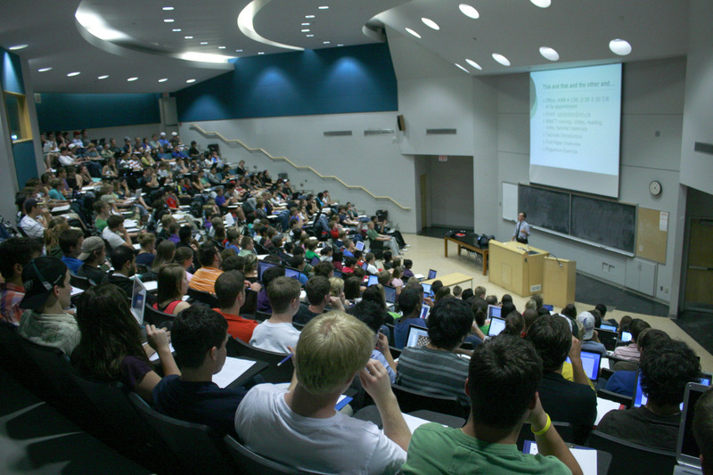 The PCs want to make a push towards math and science in the university classroom (File photo by Nick Lachance)