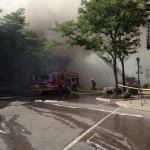 Fire in Uptown