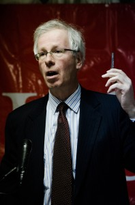 Formal Liberal leader Stephane Dion debated on electoral reform in Canada (Photo by Kostadin Kolev)