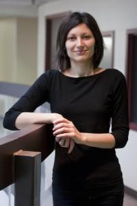 Laurier prof Ivona Hideg. (Photo by Kate Turner).