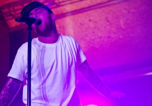 Mac Miller performs at The Turret. (Photo by Rosalie Eid).