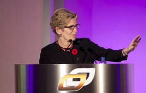 Kathleen Wynne was announced as the new leader of Ontario's Liberal party after last weekend's convention. (Contributed photo - Ontario Chamber of Commerce)