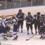 Women's hockey forces game three