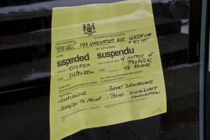 The Firehall had its liquor licence suspended on March 16. (Photo by Kate Turner).