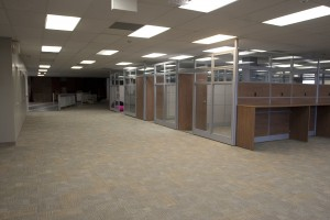 The renovations to the 2-4 Lounge before the 2011-12 school year were just paid off thanks to the 2012-13 Student Life Levy. (File photo by Nick Lachance).