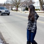 Regional police crack down on jaywalking