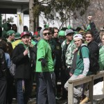 St Patrick's Day block party stays under control