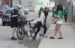 Last year on St. Patrick's Day, WRPS officers issued 250 tickets for open alcohol containers. (File photo by Nick Lachance).