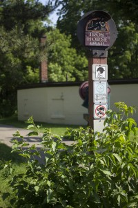Parts of Iron Horse Trail were sold to developers at a June 10 city council meeting in Waterloo. (Photo by Heather Davidson)