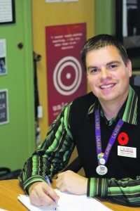 Adam Lawrence begins his term as dean of students Brantford on July 15. (File Photo)