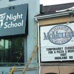 Night School, McMullan's deal with closure just before school year