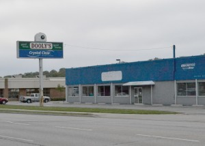 Maxwell's Music House has bought what was formerly Dooly's pool hall, but is experiencing delays. (Photo by Rebecca Allison)