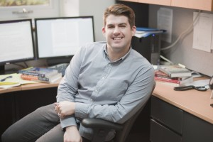 Photo by Heather Davidson Justin Cavallo was one of five researchers to receive Insight grant at Laurier
