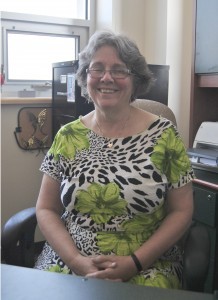 Howard-Hassmann is the Canada research chair in human rights. (Photo by Laura Buck)