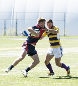 Men's rugby hopes to escape the injury woes in the rest of the season. (Photo by Kha Vo)