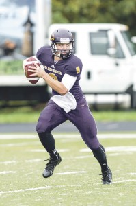 There were a lot of bright spots in Laurier's performance Saturday afternoon. (Photo by Trevor Mahoney, Laurier Athletics)