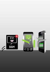 BBM to iPhone - jenny sureepromsilp
