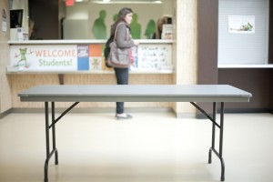 Director McLean proposed the idea to implement office hours to reach out to students. However, they are waiting to gauge student demand before following through. (Photo by: Will Huang)