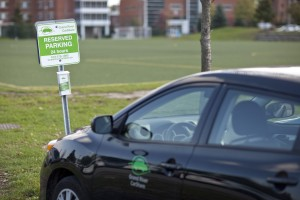 Laurier now has a student car share (Photo by: Ryan Hueglin)