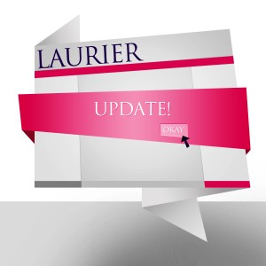 ITS and CPAM are working towards a new website for Laurier. (Lena Yang)