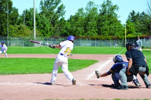 Men's baseball won both games of their doubleheader against McMaster, 9-0 and 13-3. (Photo by Andriana Vinnitchok)