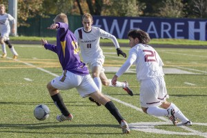 Laurier will play against Guelph in Guelph on Wednesday at 8:15 p.m. (Photo by Will Huang)