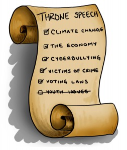 throne speech - lena