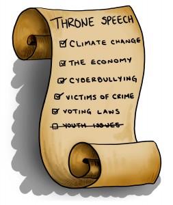throne speech - lena