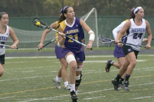 Women's lacrosse hopes to end the season on a high note heading into OUAs (Photo by Kha Vo)