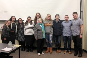 Hillel Waterloo organized events for Holocaust Education Week. (Contributed photo)