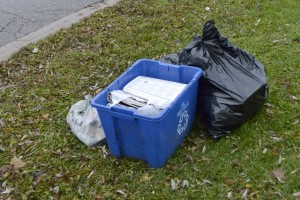The Region is considering bag limits, bag tags and bi-weekly pick-ups for garbage collection. (Photo by Rebecca Allison)
