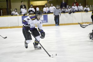 Men's hockey has yet to win a game this season. (Photo by Rebecca Allison)