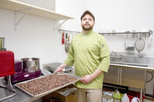 Ambrosia Pastry makes their own chocolate straight from the bean. (Photo by Jessica Dik)