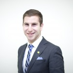 Students' Union presidential candidate, Chandler Jolliffe.