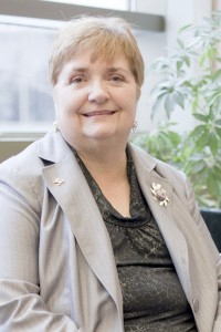 One of the councillors running for re-election, Jane Mitchell (Photo by Heather Davidson)