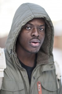 Laurier student and independent hip-hop artist, Joey Onabolu (Photo by Ryan Hueglin)