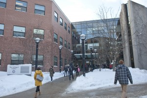 Laurier's Business buildings (Heather Davidson)
