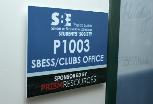 SBESS has a club office in the Peter's building on campus. (Photo by Heather Davidson)