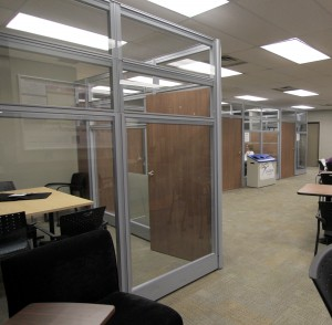 Study rooms were funded by the first third of the Student Life Levy. (Photo by: Heather Davidson)