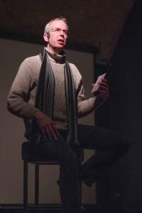 Frank Warren spoke to students about mental health (Photo by: Jessica Dik)