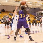 Women's basketball hangs on to second place