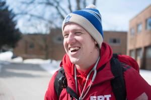 Current ERT coordinator, Keegan Goodman. (Photo by Kha Vo)