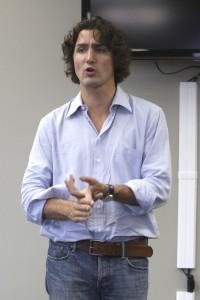 Justin Trudeau at Laurier, 2011 (Rosalie Eid, file photo)