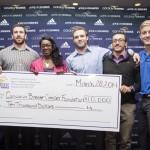 Laurier Lettermen donates $10,000