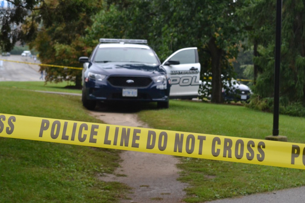 Police investigate the scene on Sept.5 (Photo by Ross Howey)