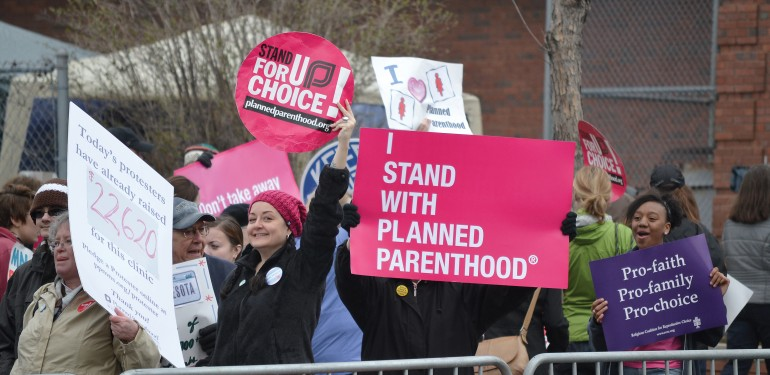 Pro-choice rally (Contributed images)