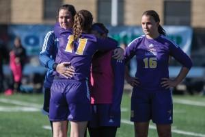 4. Women's soccer loss (Heather Davidson, file photo)