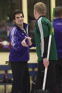 Men's curling gold medal game (Heather Davidson)