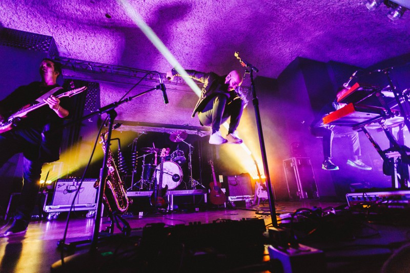 X-Ambassadors shake the stage at The Turret with a striking performance (Will Huang/ Photo Editor).