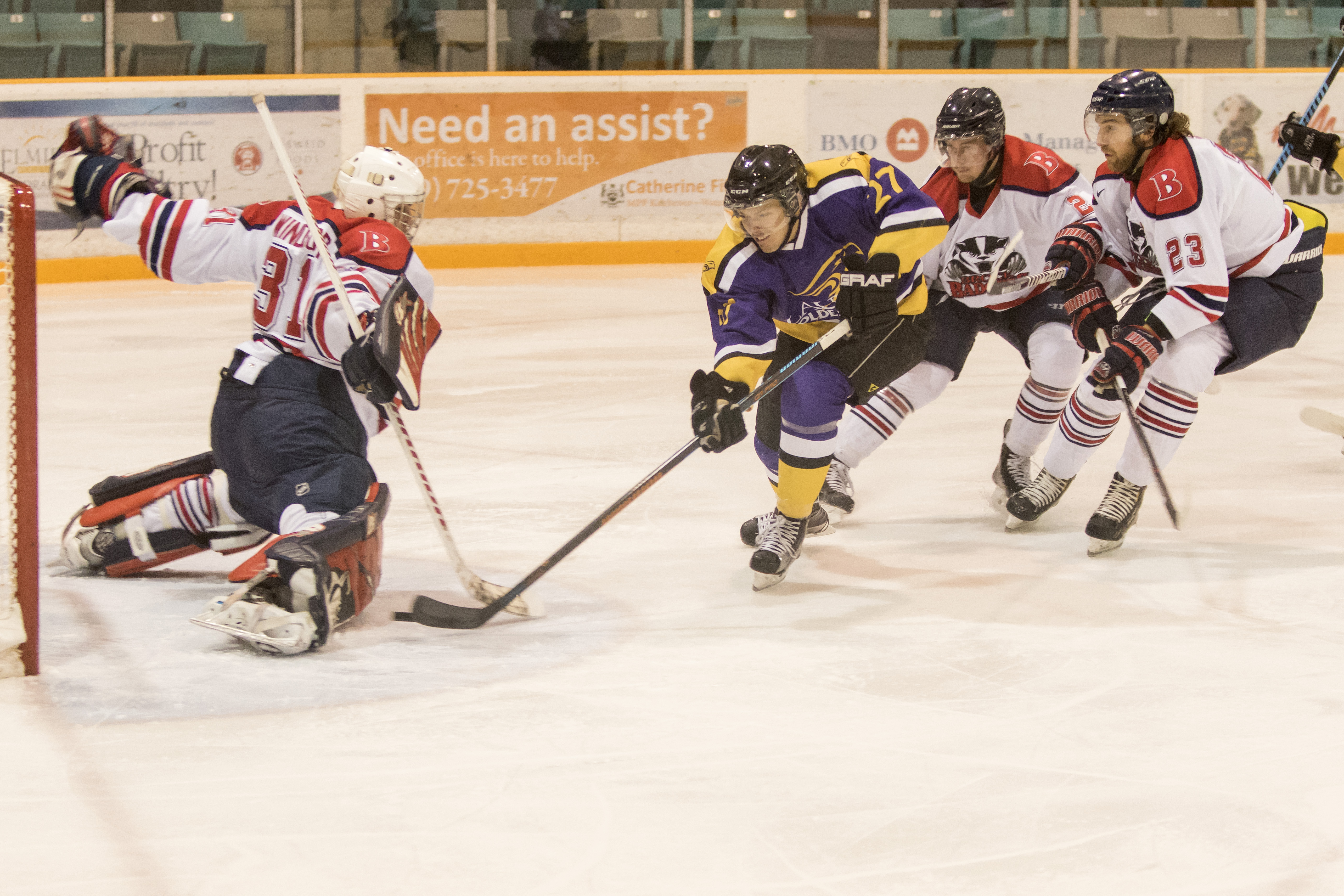 Laurier hockey goes back to basics